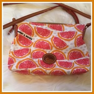 Dooney & Bourke Pomelo Nylon Crossbody Bag
